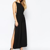 Finders Keepers Held High Jumpsuit in Black