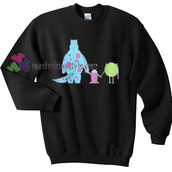 Monster University Friends sweatshirt sweater tees unisex size S-3XL