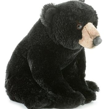 Aurora World Flopsie Plush Blackstone Bear, 12``