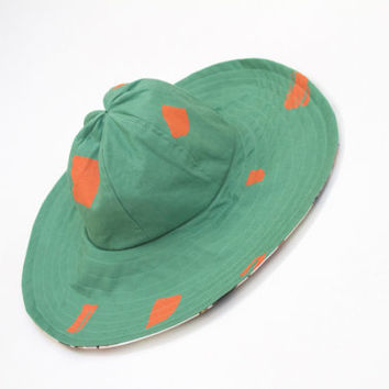Bulldog SHAPES, reversible Pool Hat