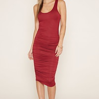 Gathered-Side Bodycon Dress | FOREVER 21 - 2000160529