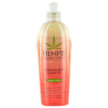 Hempz HEMPZ HYDRATING BATH & BODY OIL 6.76 OZ UNISEX