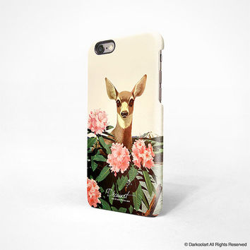 iPhone 6 case, iPhone 6 plus case, iPhone 5s case, iPhone 5C case, iPhone 4s case with cream bambi Hong Kong free shipping A552