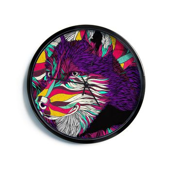 "Danny Ivan ""Color Husky""  Modern Wall Clock"