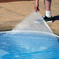 Blue Wave 12-mil Oval Above Ground Pool Solar Blanket (Clear)
