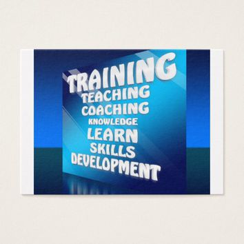 Teaching Skills Business Card