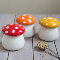 One Hundred 80 Degrees Mushrooms Amanita Second Helping Jar Set