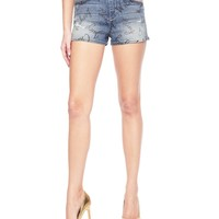 Windswept Words Denim Shorts by Juicy Couture