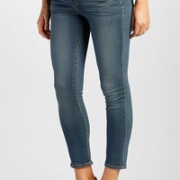 Women's Paige Denim 'Verdugo' Maternity Skinny Jeans with Side Gussets (Tristan Blue)