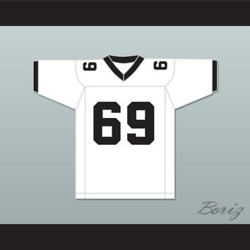 O.W. Shaddock 69 North Dallas Bulls Football Jersey North Dallas Forty