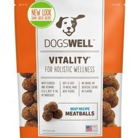 Dogswell Vitality Beef Meatballs Dog Treats 5 oz