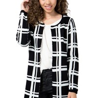Check Out Sweater Cardi
