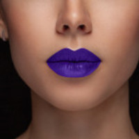Purple Semi Matte Liquid Lips