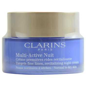 Multi-active Night Nuit Target Fine Line Revitalizing Night Cream ( Normal To Dry Skin ) --50ml-1.7oz