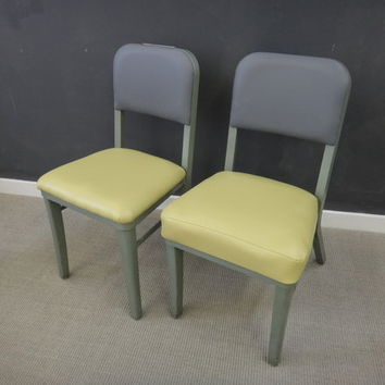 Vintage Reupholstered Steelcase Chairs--Reduced
