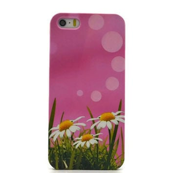 Daisy iPhone 6 case Floral iphone 6 plus case floral Samsung S6 case  galaxy S5 S4 mini case floral iphone 4S 5S Note 4 note 3 LG G4 Xperia