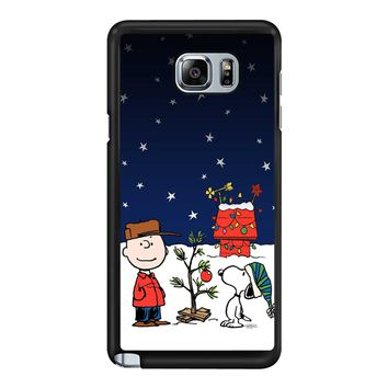 Charlie Brown Christmas Peanuts 001 Samsung Galaxy Note 5 Case