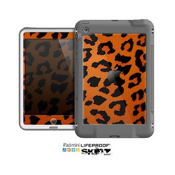 The Orange Vector Animal Print Skin for the Apple iPad Mini LifeProof Case