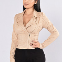 Night Before Jacket - Taupe
