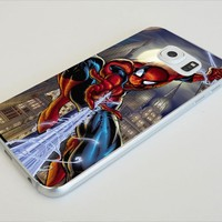 Marvel Comics Spiderman Samsung Galaxy S4 S5 S6 Case (samsung s6 white)
