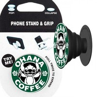 Lilo & Stitch (Ohana Coffee) Phone Stand & Grip