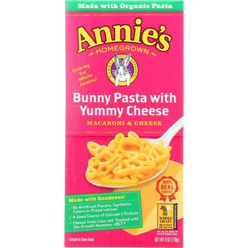 Annie's Homegrown Bunny Pasta with Yummy Cheese䋢 - 6 oz