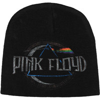 Pink Floyd Men's Dark Circle Beanie Black