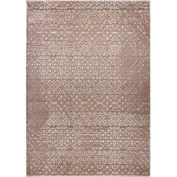 Pierre Cardin Home Sateen Collection Abstract/Vintage Design Area Rugs