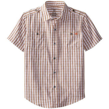 Dockers Boys Plaid Button-Down Shirt