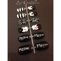 Hello Kitty Fake Nail Set
