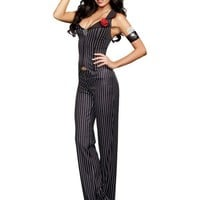 Adult Crime Time Gangster Costume- Party City