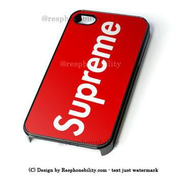 Supreme New York Clothing Skateboarding iPhone 4 4S 5 5S 5C 6 6 Plus Case , iPod 4 5 C
