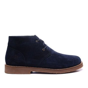 LFMON UGG 1006082 Ankle Women Men Fashion Casual Wool Winter Snow Boots Blue