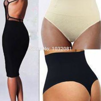 High Waist Shaper Thong Sizes S-3XL