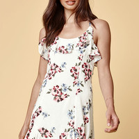 Kendall and Kylie Textured Ruffle Dress at PacSun.com