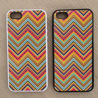 Cute Floral Paisley Chevron iPhone Case, iPhone 5 Case, iPhone 4S Case, iPhone 4 Case - SKU: 150