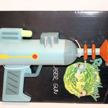 Licensed cool Rick and Morty Laser Gun Halloween Costume Cosplay FOAM PROP Adult Swim Licensed