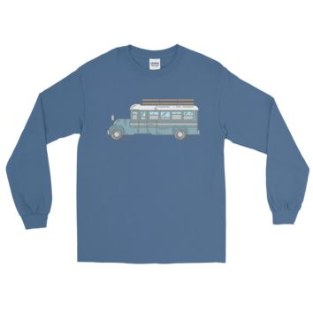 Big Blue Bus - Long Sleeve T-Shirt