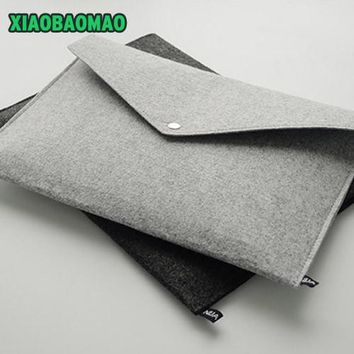 Upscale! Felt folder A4 file bag briefcase bag containing high-grade office portfolio iPad hand bag