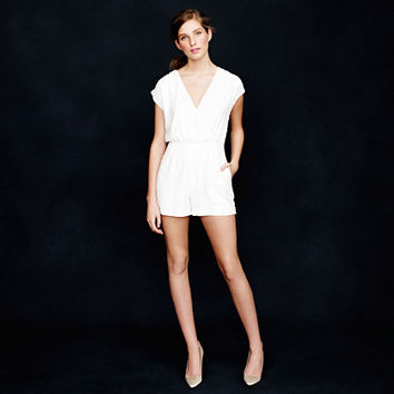 J.Crew Womens Collection Shimmer Sequin Romper