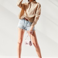 UO Greta Textured Linen Button-Down Top | Urban Outfitters