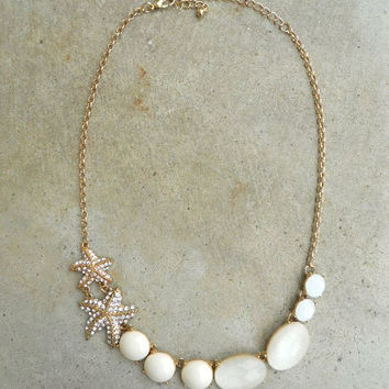Sea + Sand Necklace [5506] - $15.75 : Vintage Inspired Clothing & Affordable Dresses, deloom | Modern. Vintage. Crafted.