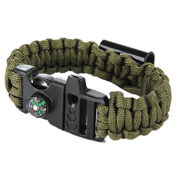 High Quality Survival Cord With Compasses