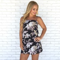 Late Night Bloom Floral Dress