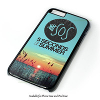 5 Seconds Of Summer Meadow Logo (5Sos) Design for iPhone and iPod Touch Case