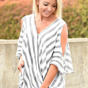 Easy Breezy Stripe Top