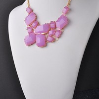 Allure Necklace - Lilac
