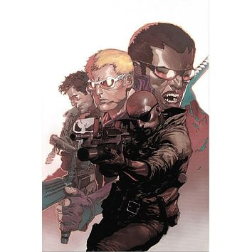 Ultimate Avengers Vs. New Ultimates #4 - Limited Edition Giclee on Stretched Canvas by Leinil Francis Yu and Marvel Comics