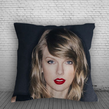 Taylor Swift for Square Pillow Case 16x16 Two Sides, 18x18 Two Sides, 20x20 Two Sides