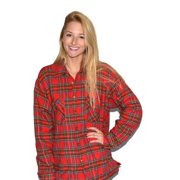 Flannel Jacket Flannel Red Flannel Sweater